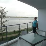                                      Balcony overlooking Broadwater