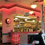                    50s diner design