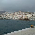 syros view outside of the hotel