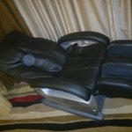                    the massage chair at my room