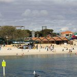 Beach at Hillarys marina
