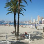 Beach in Old Benidorm