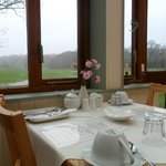 Our Breakfast Conservatory overlooking the beautiful views