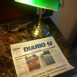                    Diario Piaui quarto hotel