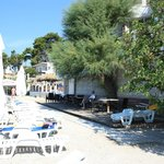 "Beach at hotel ""Sunce"""