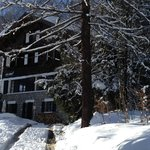                    A view of the chalet