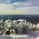 Great view from summit towards Rangeley Lake