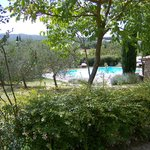                    Giardino e vista piscina