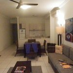                    Kitchen/Lounge 1 bed apartment also have bedroom/study/bathroom