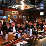 Bears game at Fokker's Pub