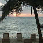                    View from our room - Caribbean sunrise