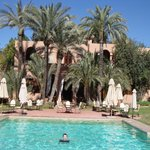                    Riad across from pool