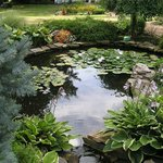  Well landscaped grounds include small pond, stream and waterfalls
