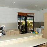 Studio apartment fully equipped kitchen