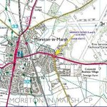 Area map yellow arrow for house