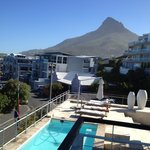 Balcony view of Lions Head