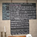 Slow Food Menu