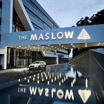 Enterance to The Maslow Hotel