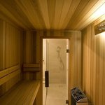                                      Ground floor Sauna
