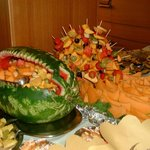 Decorazione buffet