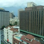                    view of Brisbane from room 901
