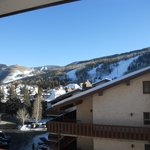 2nd floor mountain veiw. It wasnt a bad veiw