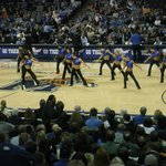                    Tiger Dance Team at the fedexfourm