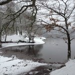  Snowy Loch Faskally