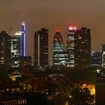 View of The Gerkin & City of London at Night