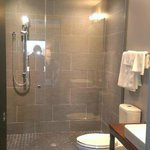Amazing shower and heated floors!