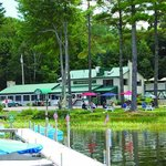 Docks, boat rentals and Cyndi's Dockside for Lobsters and more!