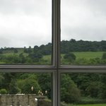                    View from main level of hotel-beautiful countryside