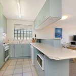  All apartments have fully equipped kitchens