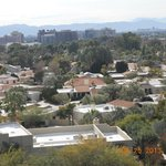 View of Phoenix from the Wrigley Mansion.