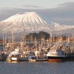  Winter view of Mt. Edgecumbe