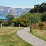 View from the estate over Akaroa Harbour