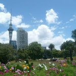 Sky Tower - from Albert Park