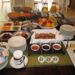 Buffet and Cooked Breakfast included in the room rate