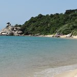                                      Cham Island beach