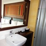                    Bathroom with view of room