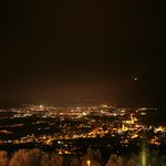                   Panorama notturno verso Riva del Garda