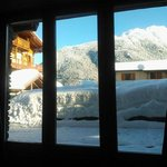 View from dining room of surrounding mountains