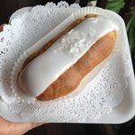                    coconut rum eclair