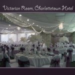 Victorian Room wedding set up
