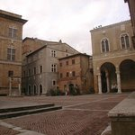                    Pienza town square