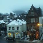 View from room looking onto Moffat's High Street