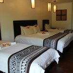                    Our Deluxe Island Bure Room.