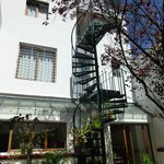                    Spiral Stairs to 3rd Floor Room