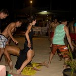 audience participation in fijian dancing