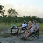 Sundowners with Simon - our guide